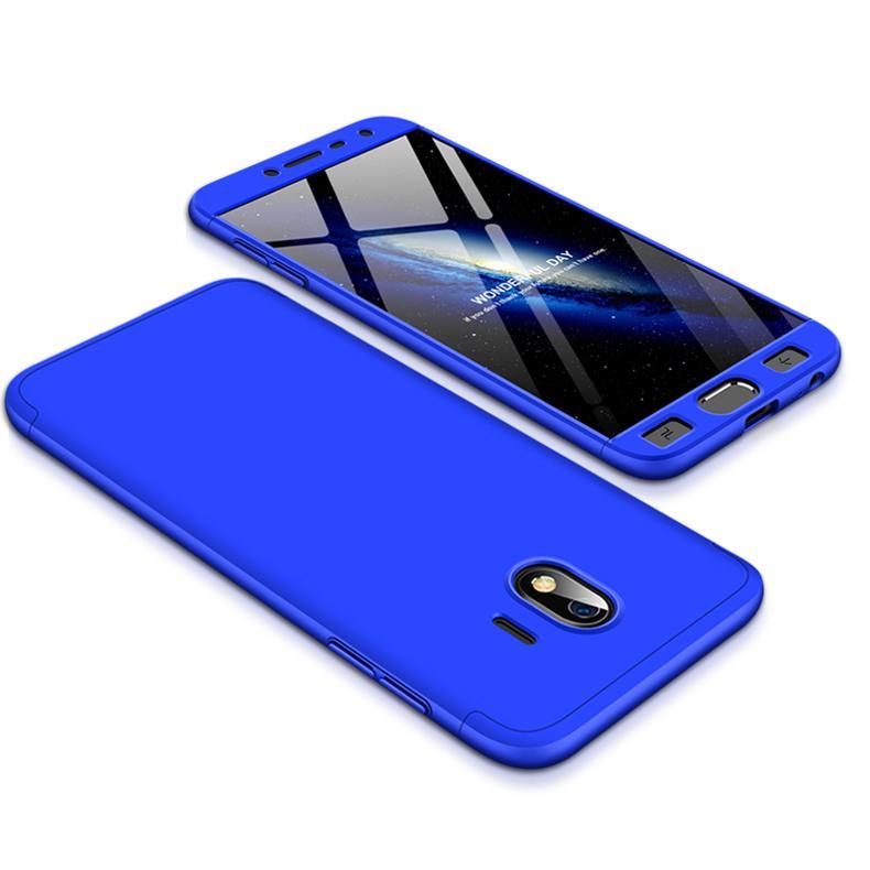 For Samsung J4 2018 Ultra Slim 360 Degree Non-slip Shockproof Full Protective Case