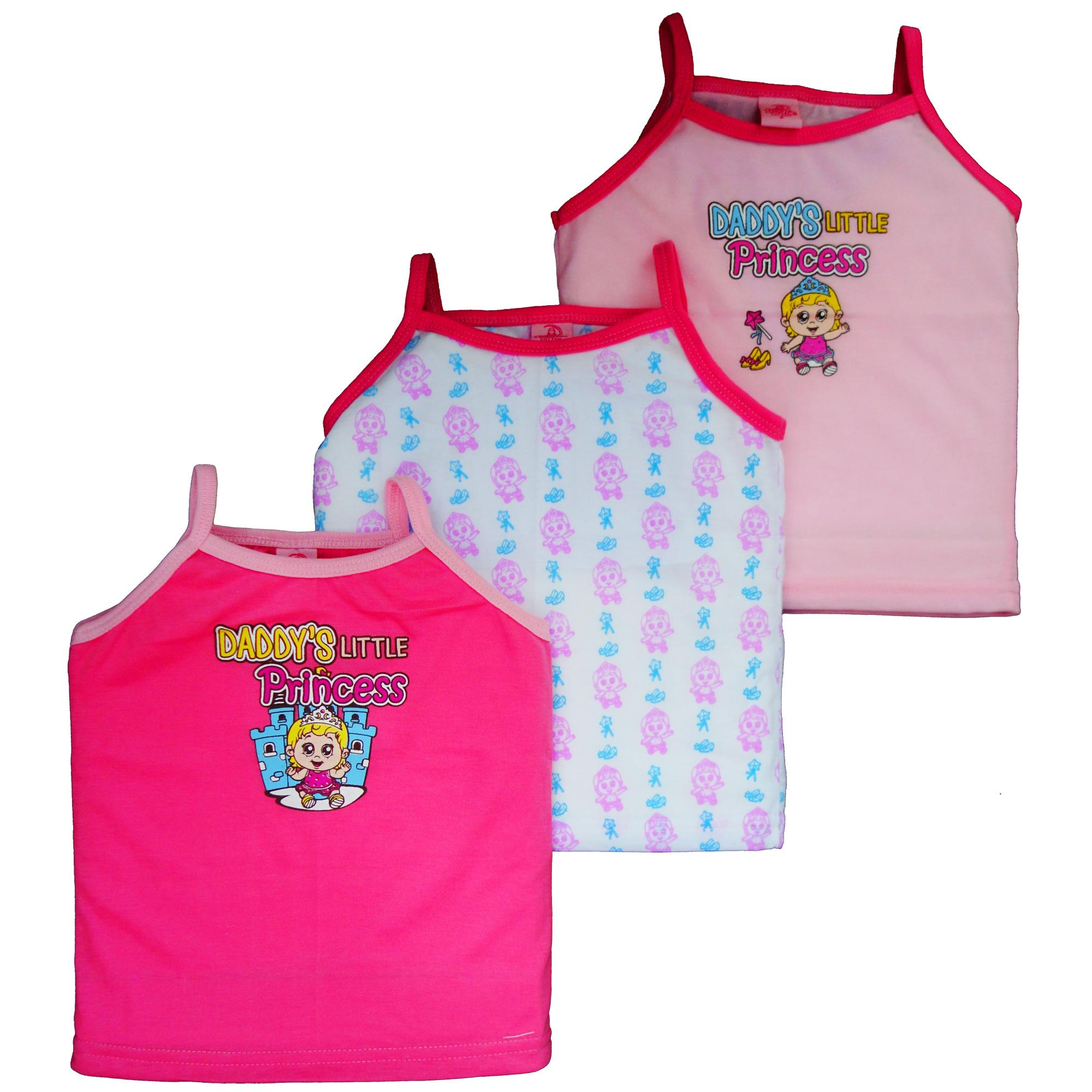 Froshie 3-Piece Baby Cotton Strappy Top (daddys Little Princess) By Froshie.