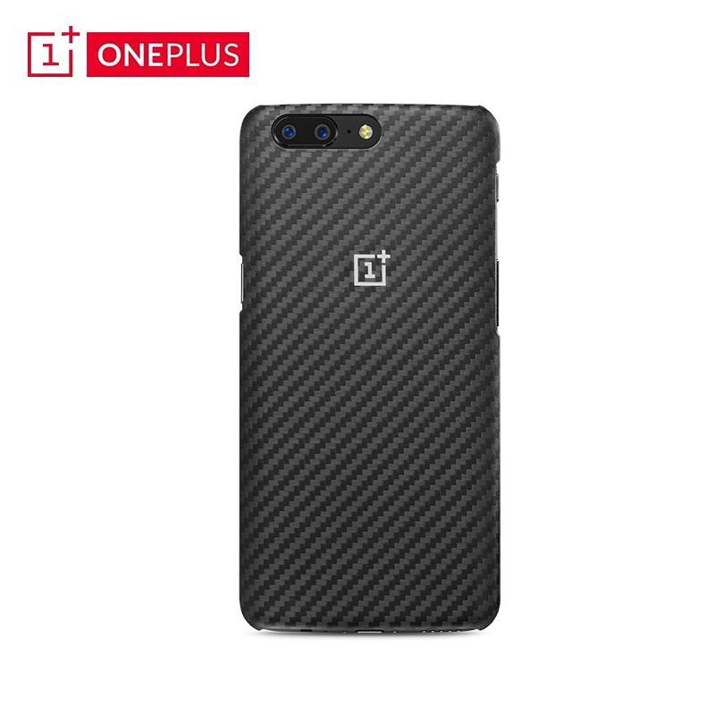 OnePlus 5 asli Casing HP 5T aramid serat Bungkus Penuh Kaila Fu anti jatuh Bungkus Penuh kepribadian Casing Situs resmi