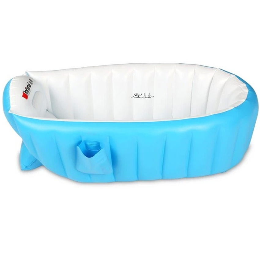 Intime Plastics YT-226A Inflatable Baby Bath Tub (Blue) | Lazada PH
