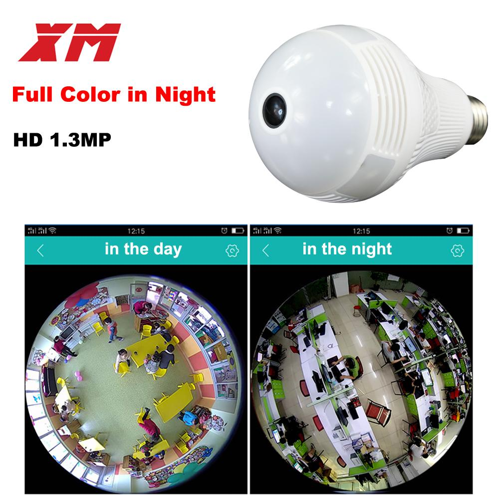 Review 360 Panoramin Smart Home Safty Wifi 960p Vr Camera Led Bulb