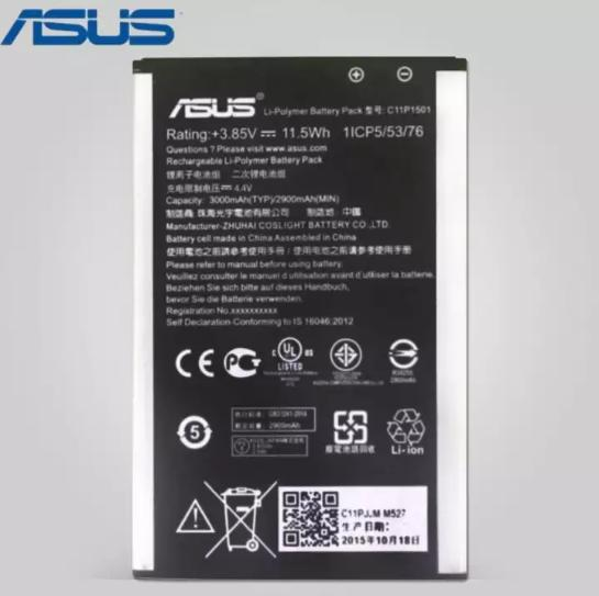 Original Asus Battery C11P1501 For ZenFone 2 Laser 55 And ZE601KL ZE550KL ZE551KL