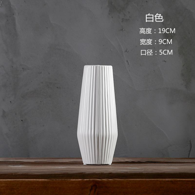 Minimalist Modern Matte Unglazed Ceramic Vase Color Porcelain Living Room Table Decorations Decoration Grow in Water Dry Flower Holder