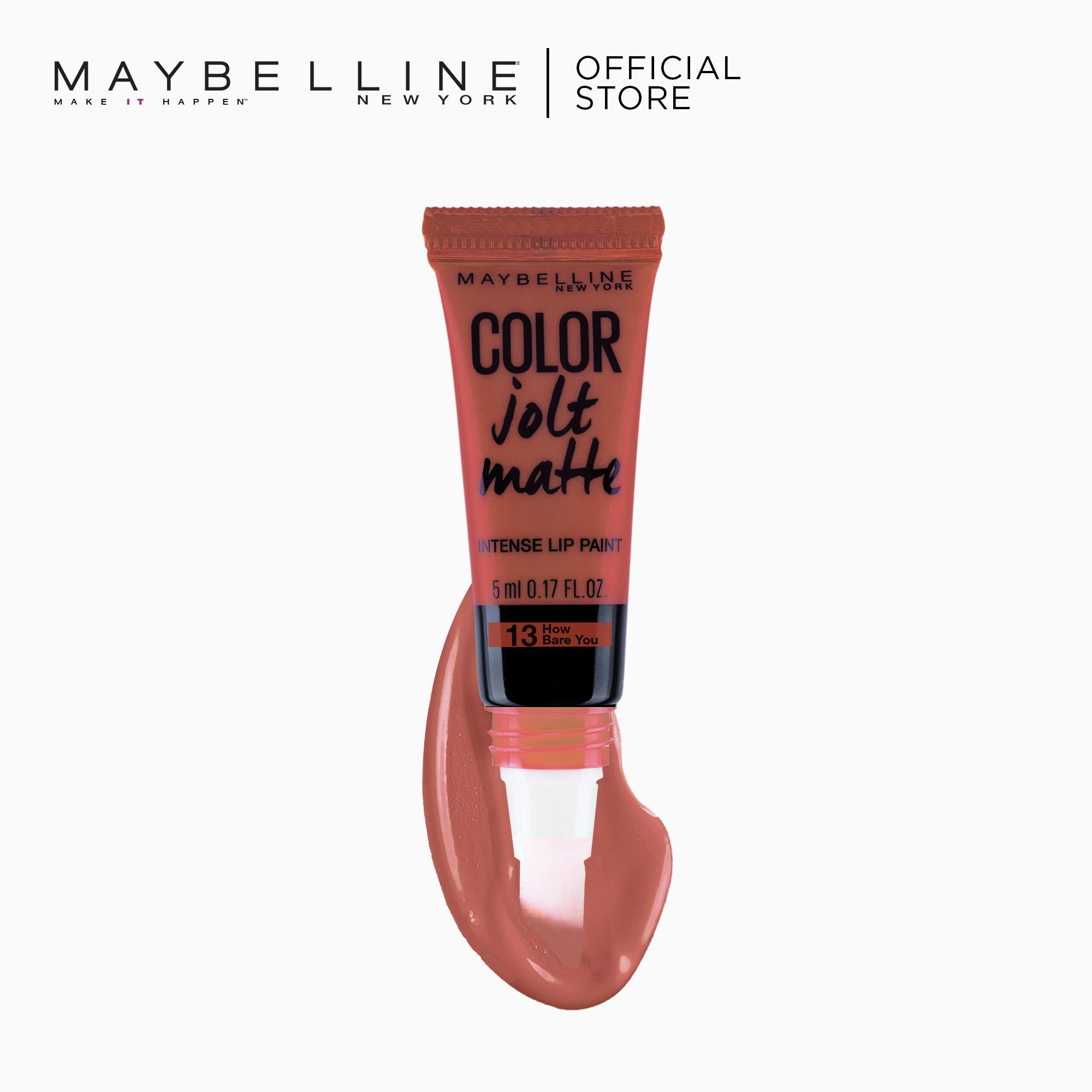 Color Jolt Matte Lip Paint – 13 How Bare You [#PaintItMatte] by Maybelline Lip Studio Philippines