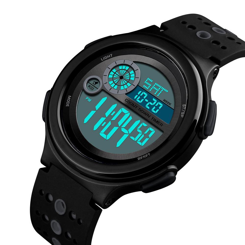 SKMEI Chronograph 50M Waterproof Watches Outdoor Men  Sports Watch Countdown Stopwatch Display  Wristwatch 1374 Malaysia