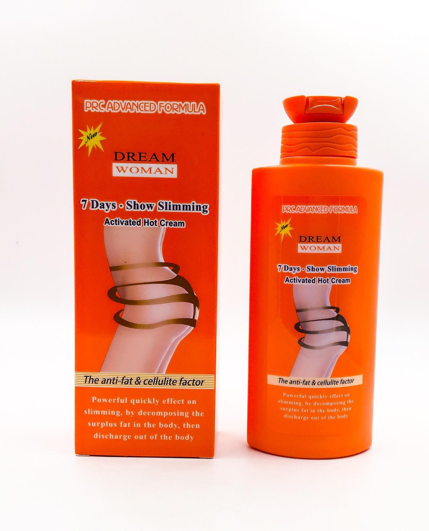 Dream Woman Slimming Hot Cream Fat Burner 200ml Set of 2 with free Nose Up Lifting