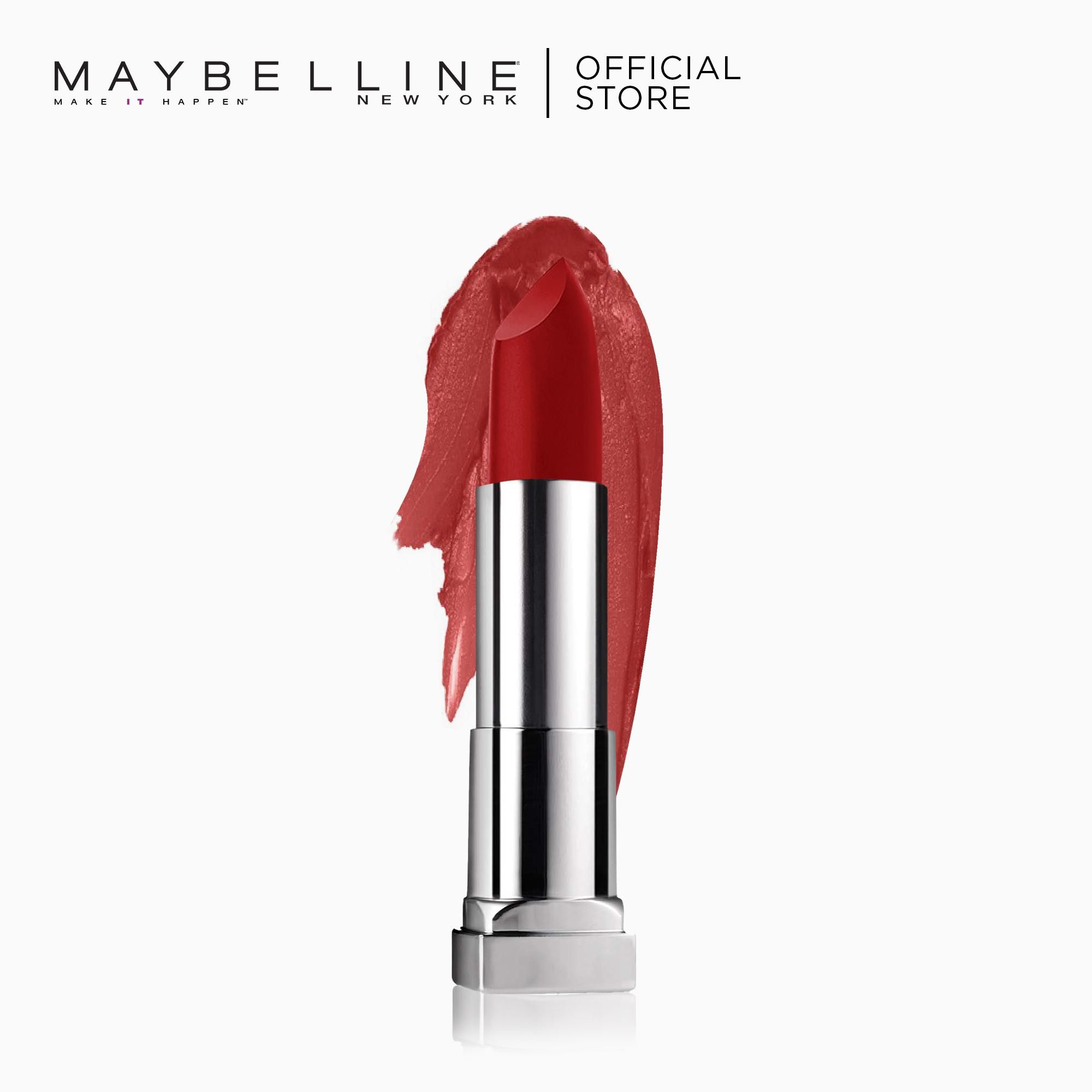 Creamy Matte Lipstick – 691 Rich Ruby [New Yorks #1] by Maybelline Color Sensational Philippines