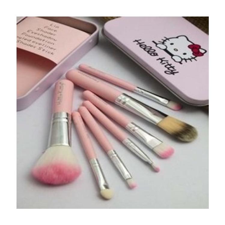 HK 7 pcs Mini Make-up Cosmetic Brush Set Philippines