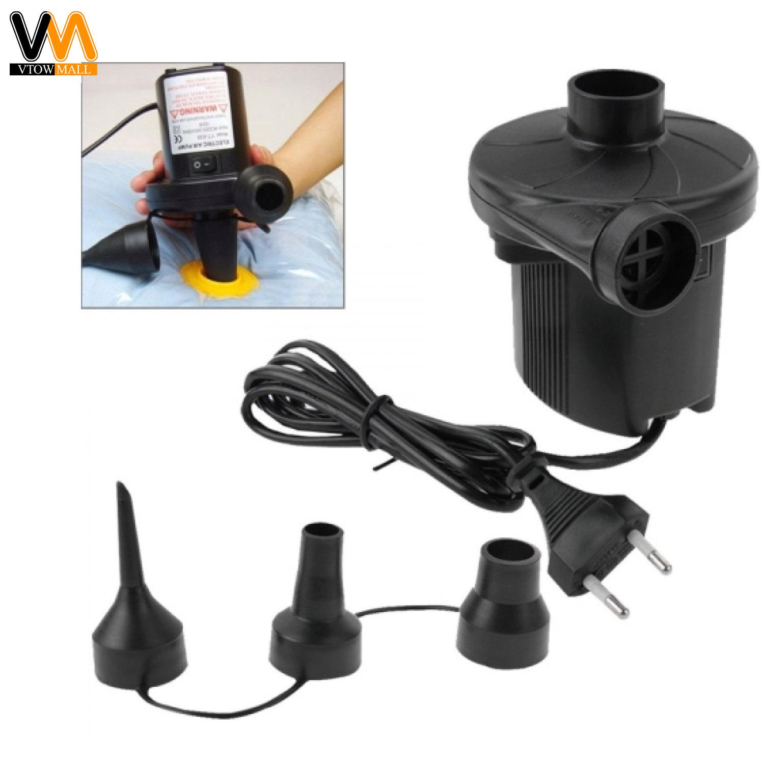 Ac Electric Air Pump Home Inflate Deflate For Air Mattress Air Bed 220v Us Plug By Vtow Cp Gadget.