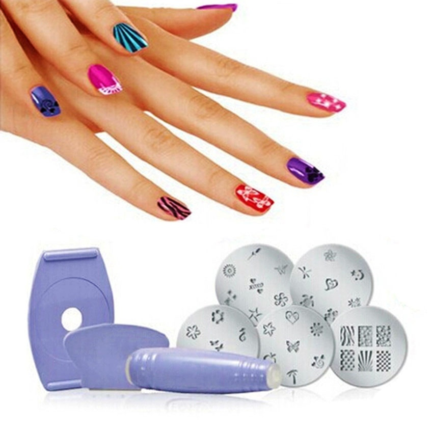 Nail Art Stamping Kit: Buy sell online Nail Art & Stickers with ...