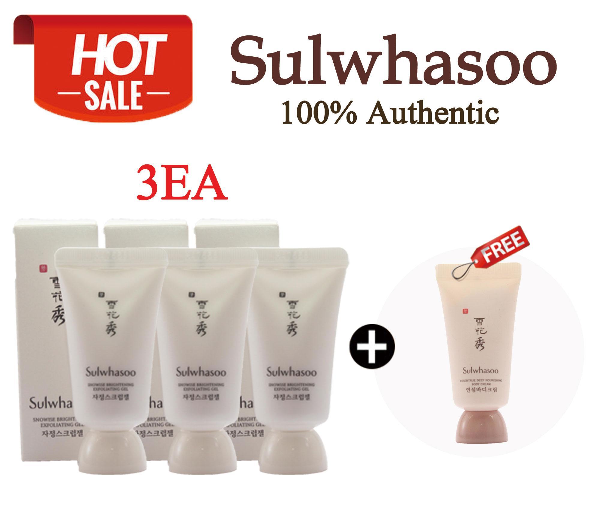 Sulwhasoo Philippines Price List Makeup Cosmetics Kit Time Treasure Renovating Cream Ex 60ml Snowise Brightening Exfoliating Gel 15ml X 3ea
