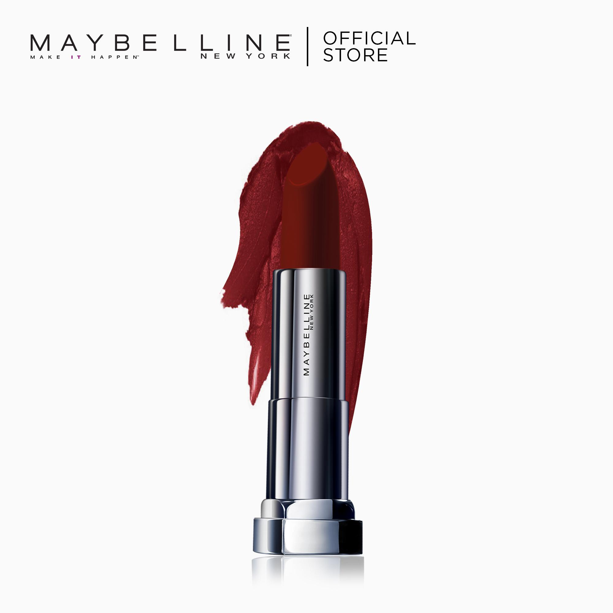 Creamy Matte Lipstick - Code Red [New Yorks #1] by Maybelline Color Sensational Philippines