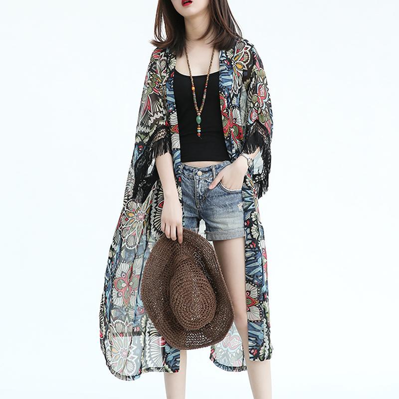 ... 200 pound mm Gaya Korea pakaian musim panas model setengah panjang  kemeja pelindung matahari adik perempuan ... b44b3aef31