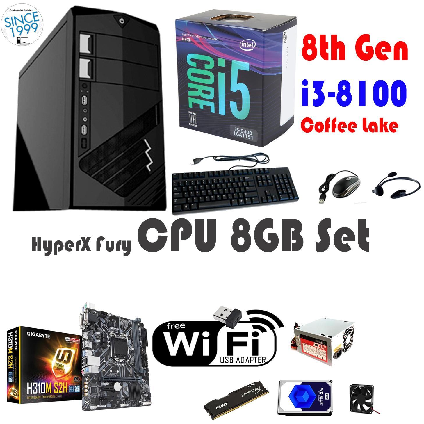 Cpu Hyperx 8gb Intel Core I3 8100 Coffee Lake Quad 36 Ghz Lga Pentium G4600 36ghz Kabylake Socket 1151 8th Gen 300 Series 65w Philippines