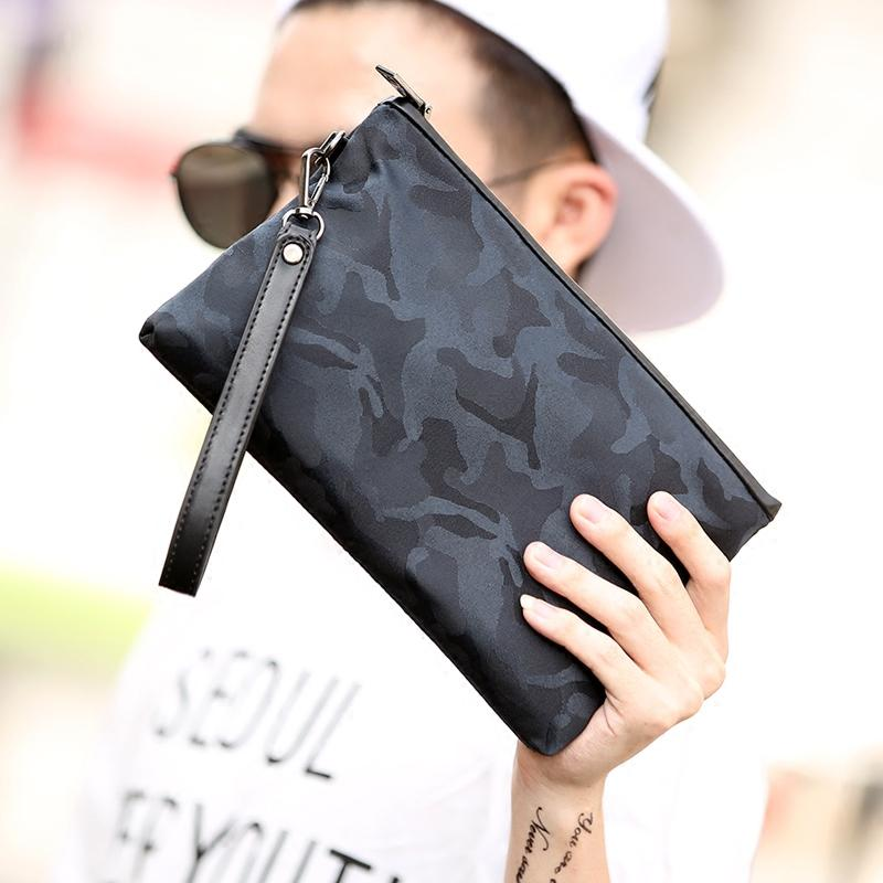 Mens Korean-Style Clutch (camouflage Black) By Taobao Collection.