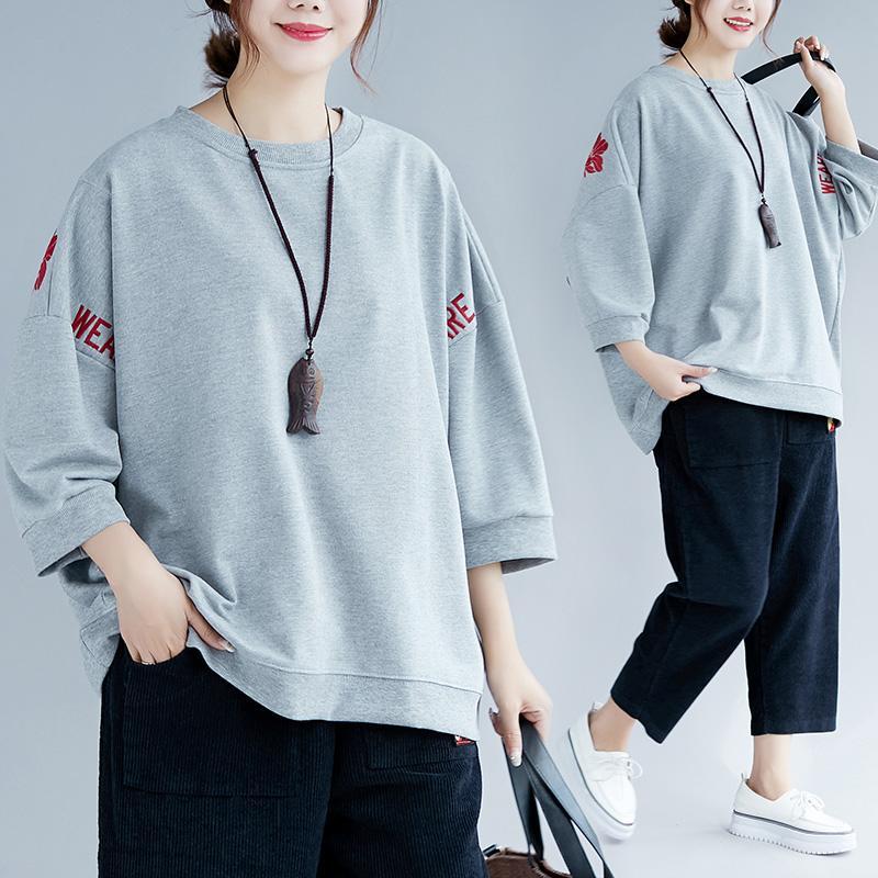 Review Adik Perempuan Gemuk Kaos Sweater Tambah Besar Baju