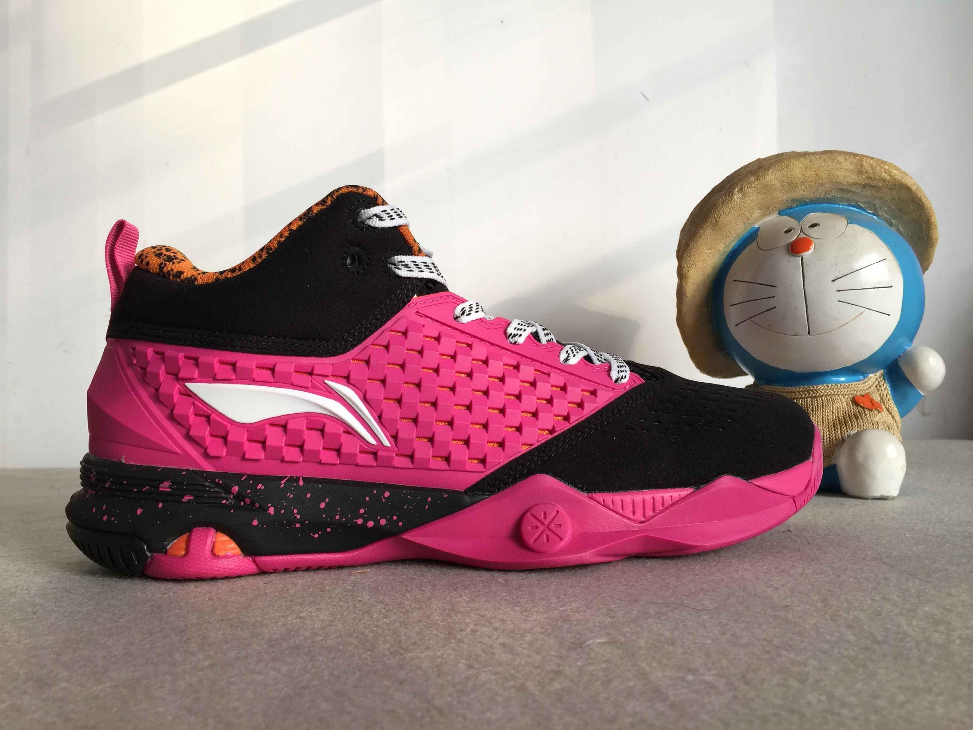 Daftar Harga Lining Sepatu Pria Baru Fisi Kebugaran Bola Basket Linning Jual Abfj023 5 Produk Asli Tempur Promosi Hitam Dan Merah Muda