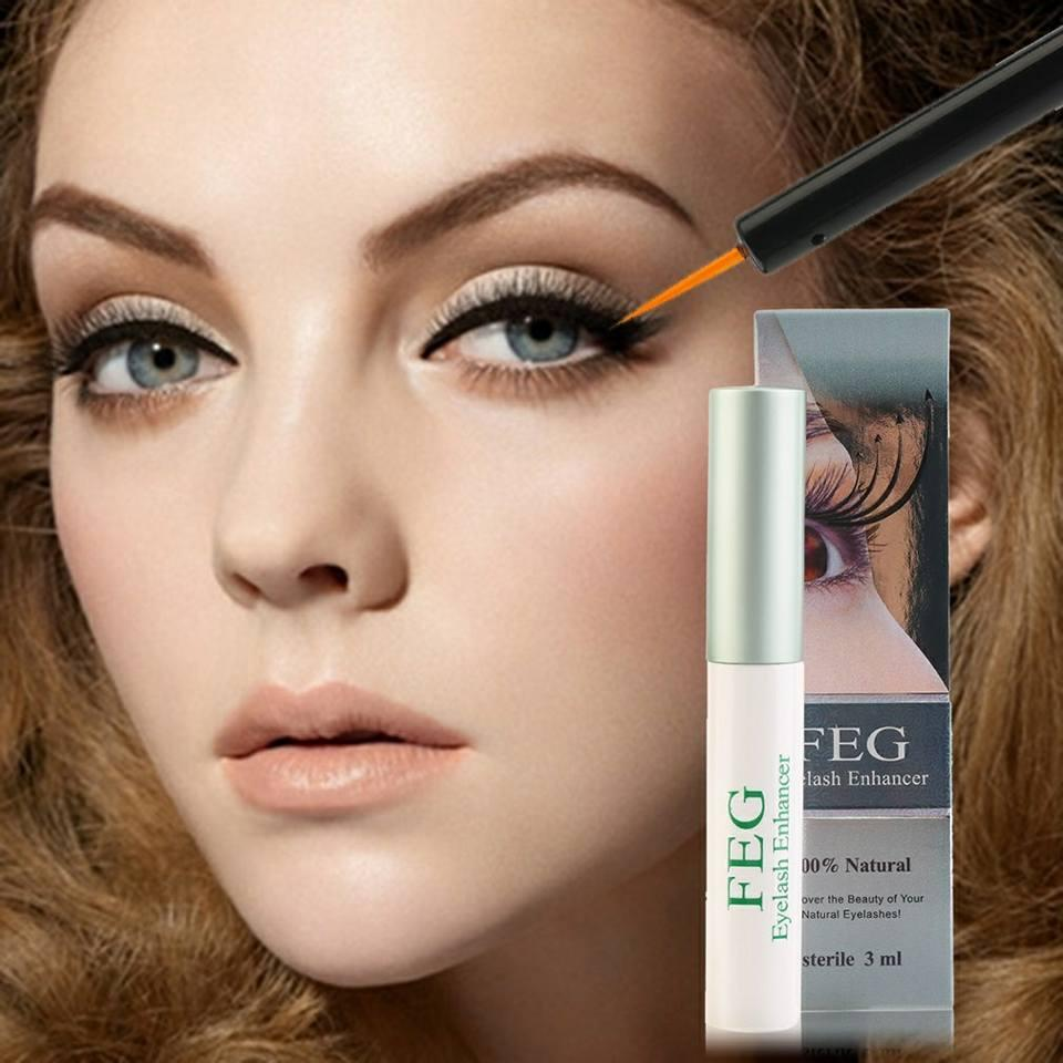 FEG Eyelash Growth Serum Nourishing Eyelash Enhancer Longer Fuller 3ml Philippines