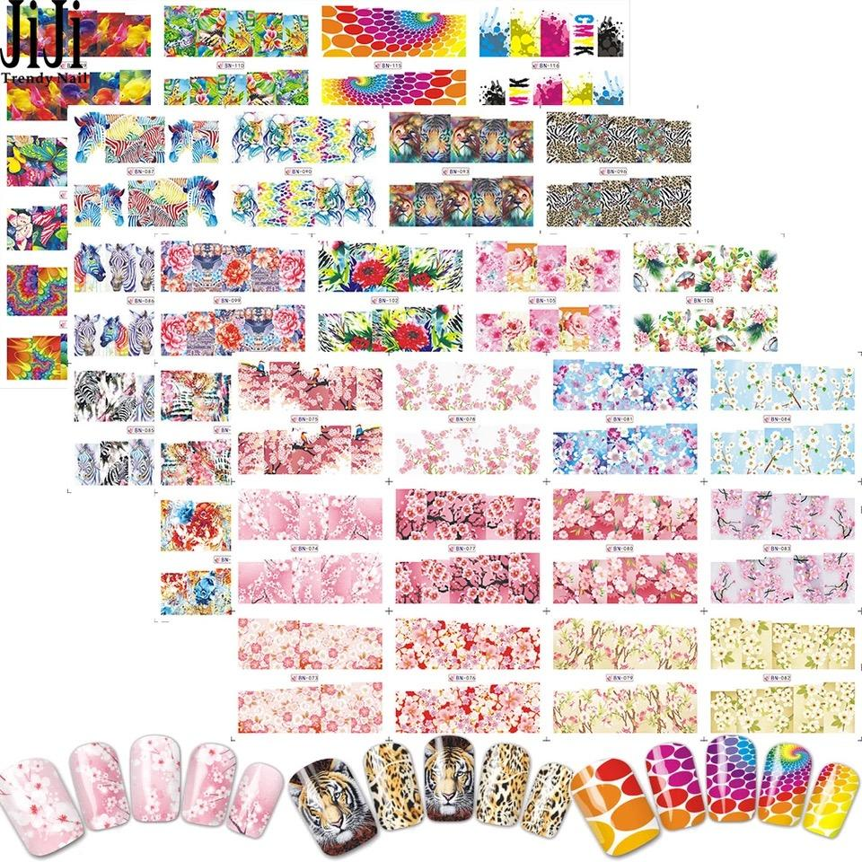 Nail Water Decal Nail Stickers 10pcs Philippines