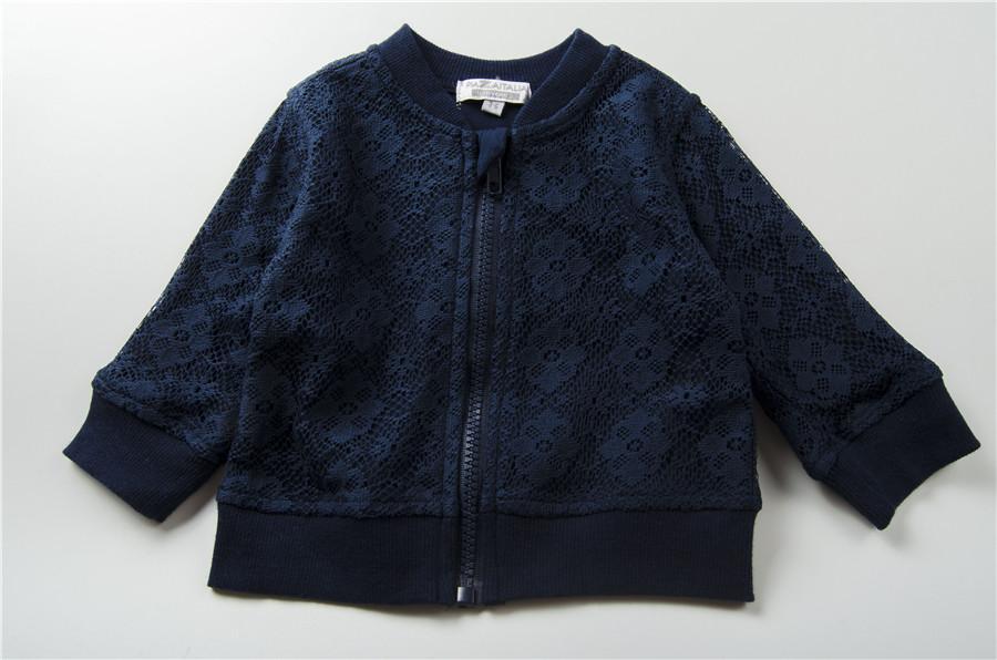 Kemeja Zipper Gaya Barat Ekspor Kaos Sweater Imut Sayang