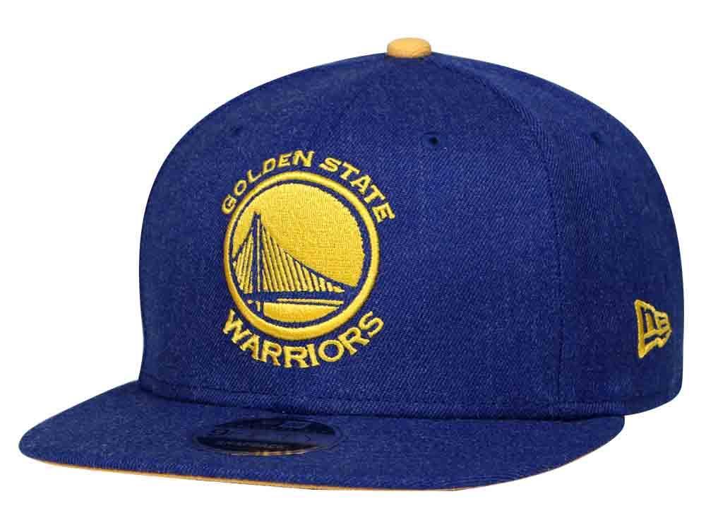 New Era Golden State Warriors NBA Heather Hype Snap Blue 9FIFTY Cap  Philippines 70737b584691