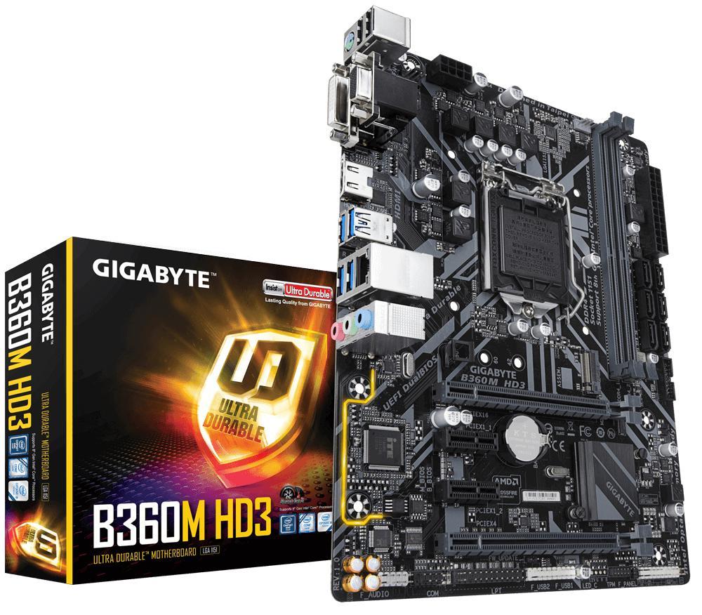 Buy Sell Cheapest Gigabyte Corsair Intel Best Quality Product Pentium G4600 36ghz Kabylake Socket 1151 B360 Hd3 Lga1151 Atx Usb 31 Gen 2