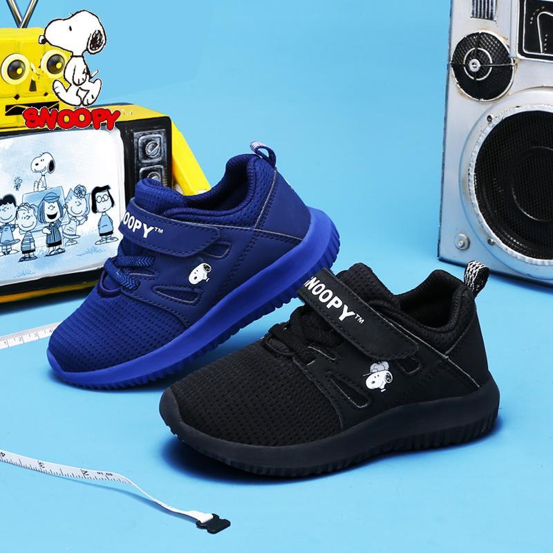 4 Snoopy Sepatu anak 5 model musim semi dan musim gugur 6 bernapas 7 anak laki