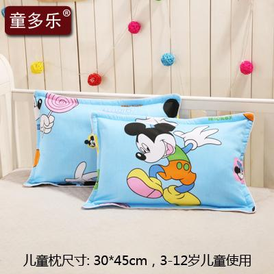 Factory Price Direct Selling Children Cotton Pillowcase Kindergarten 3-6-Year-Old Padded Cotton Infants Baby Pillow Small Pillow Case By Taobao Collection.