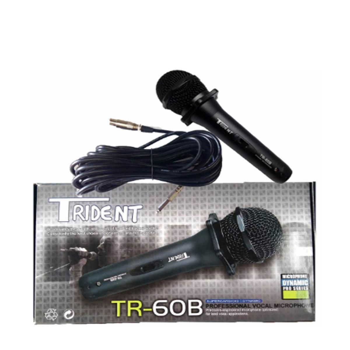 Trident Philippines Price List Microphones Mic Stands Hyundai Microphone Wiring Diagram Tr 60b Wired Heavy Duty Stereo W 10m Wire