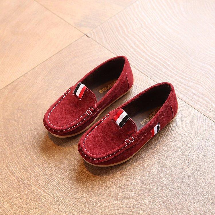 Anak-Anak Peas Sepatu 2019 Model Baru Musim Semi Netral Mudah Dipakai Anak Laki-Laki Sepatu Lapisan Tunggal Anak Prempuan Sepatu Kulit Gaya Korea Sepatu Anak Pasang By Koleksi Taobao.