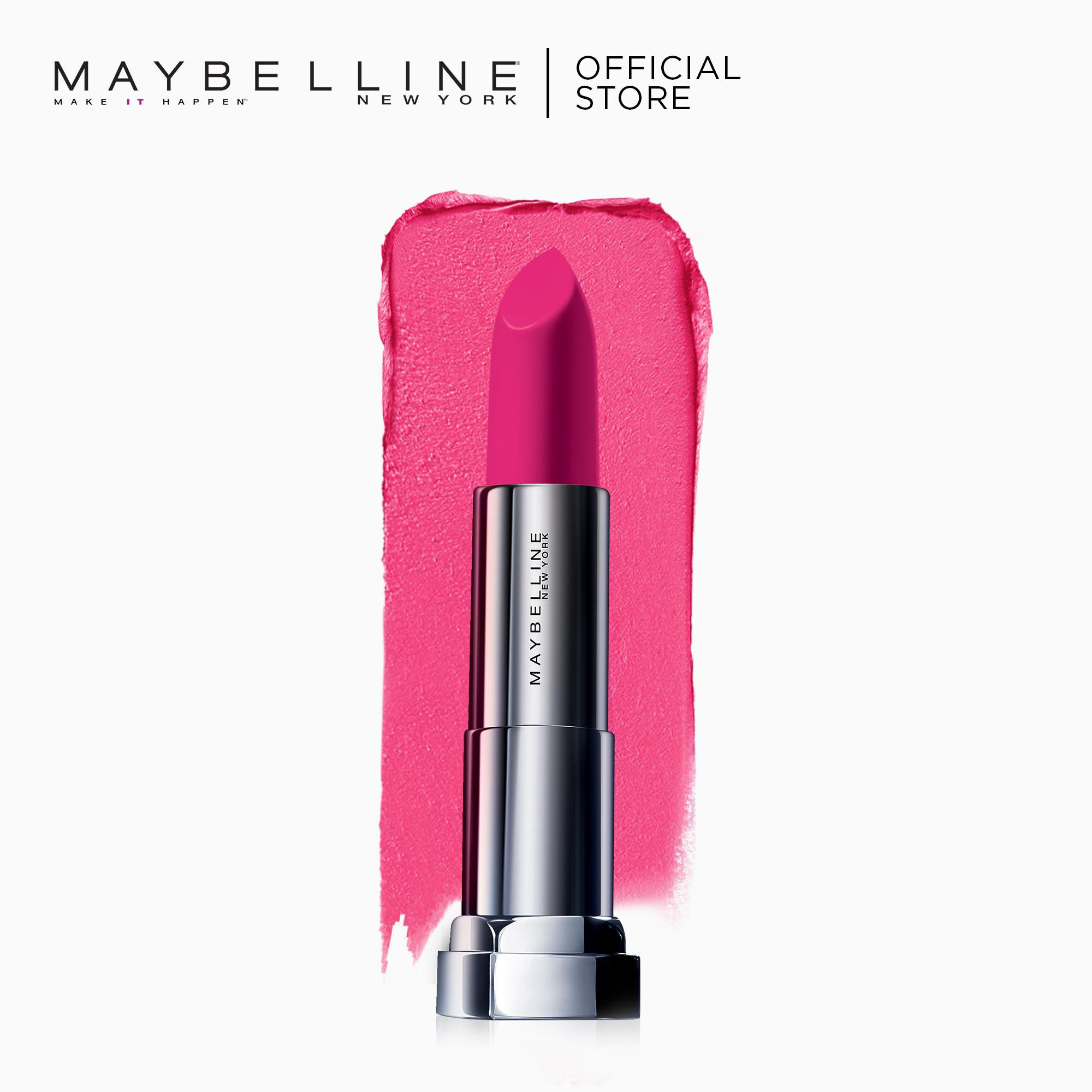 Maybelline Color Sensational Powder Matte Lipstick (Fuchsia Flash) Philippines