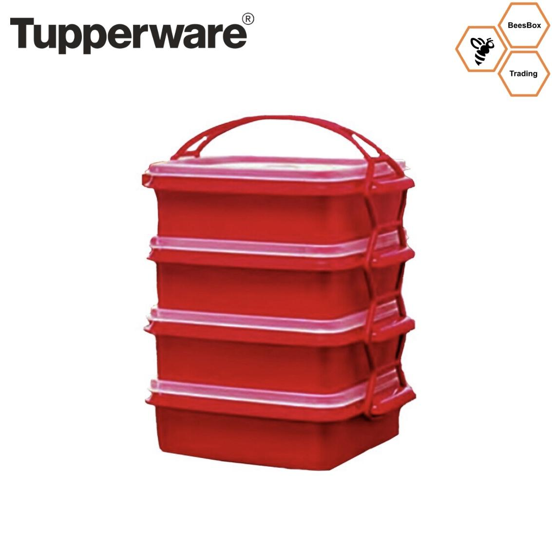 Tupperware Brands Philippines Price List Water Luxury Cookware Ampamp Elegenzia Set Goody Box Lunchbox Christmas Red Color Food Storage Container