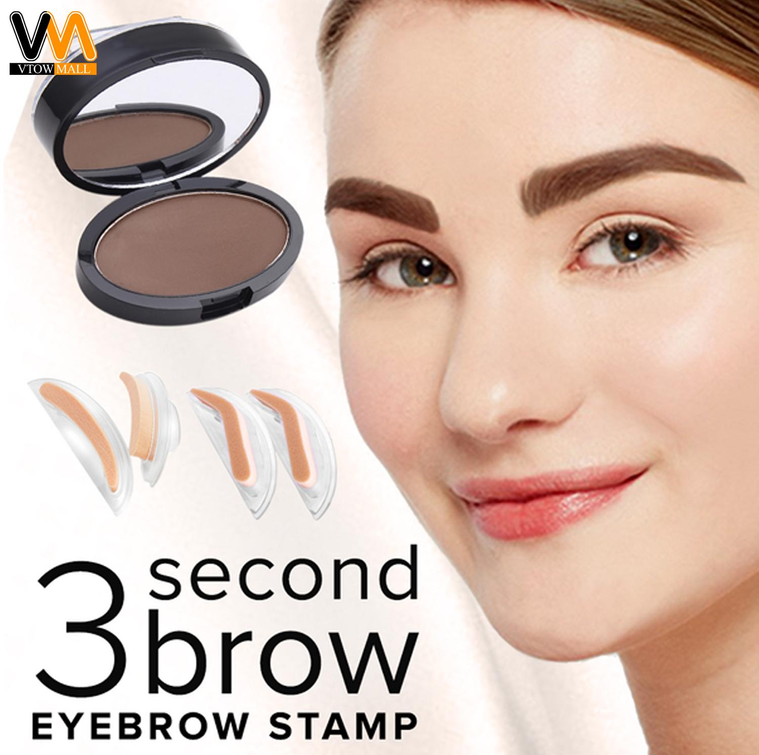 Eyebrow Stamp 3 Second Brow Natural Look Eyebrow Dark Brown Philippines
