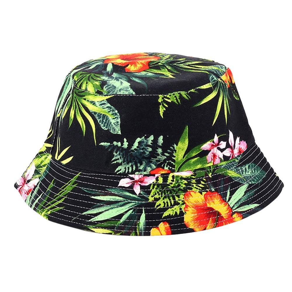 Topi Yang Dapat Disesuaikan Bunga Cetak Boonie Topi Topi Nepal Army Mens  Topi Nelayan Fashion 6ac640dbc6