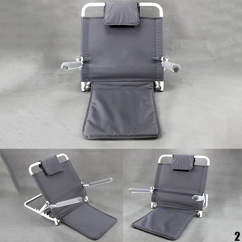 Foldable on Bed Backrest Support Stand Frame Chair Sick Patient Old People Lying Pad Leisure Relax Read Book Watch Tv Armchair Safety Care