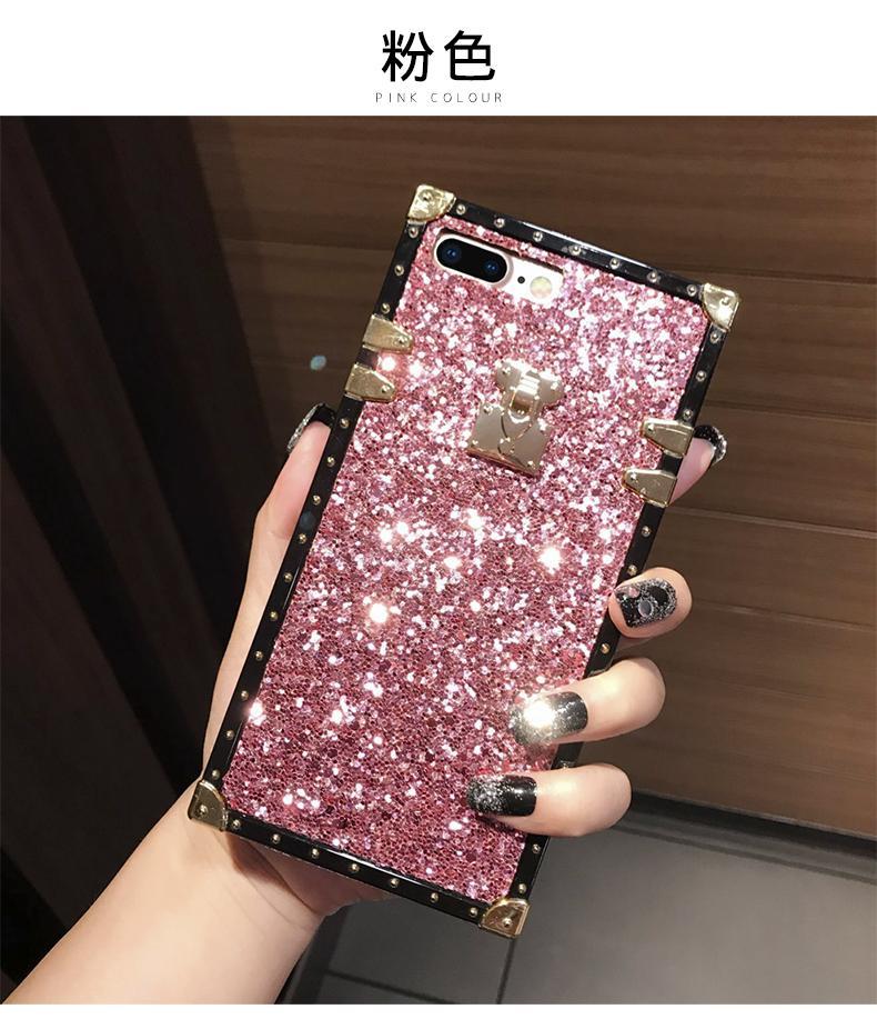 Mewah Flash Telepon Case untuk Oppo F5 Remaja Warna-warni TPU Lembut Cangkang Oppo F5 Remaja Wanita Penutup Belakang Case -Internasional