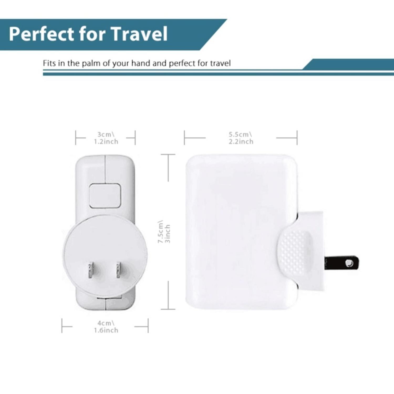 Fitur Iflashdeal Usb Travel Adapter International Wall Plug Charger Mobil 2 Port 1a Dan 2a Universal 4 Ports Power