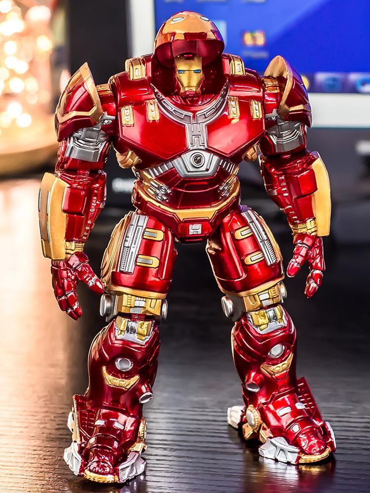 Marvel Superstar Dennis Muren] Hulk Armor Iron Man Mk44 Avengers Resin Decorations Garage Kit Model Figure Doll Toy By Taobao Collection.