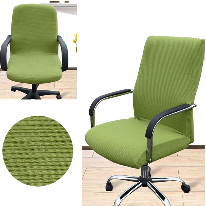 Arm Chair Cover Three Sizes Office Computer Chair Cover Side Zipper ...