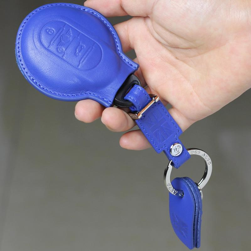 Mini Cooper Kulit Dompet Kunci Set Mini Gantungan Kunci