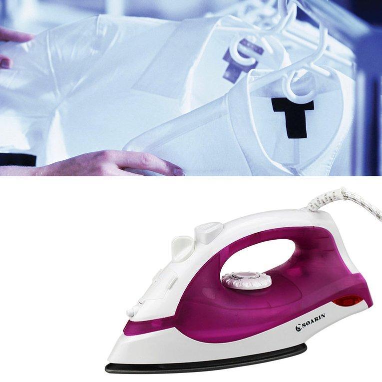 GOOD Electric Steam Ironing Machine With 3 Gear Teflon Soleplate Handheld Flatiron EU plug