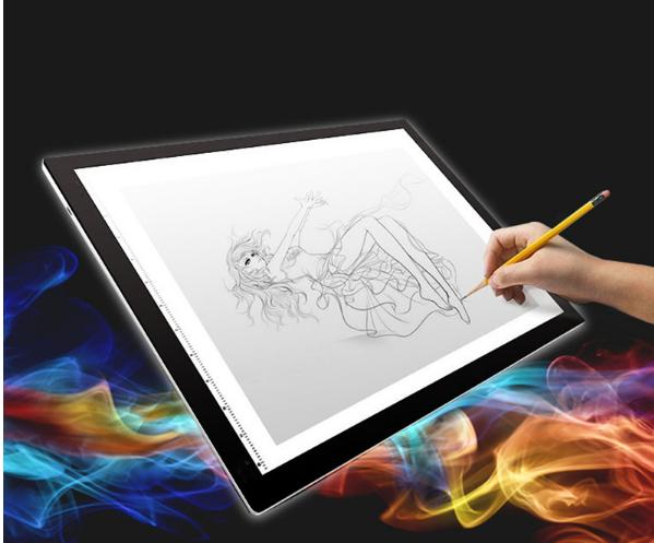 DIAMOND PAINTING ACCESSORIES ULTRATHIN 3.5mm A4 LED LIGHT TABLET PAD.  Free shipping within Metro Manila! Philippines