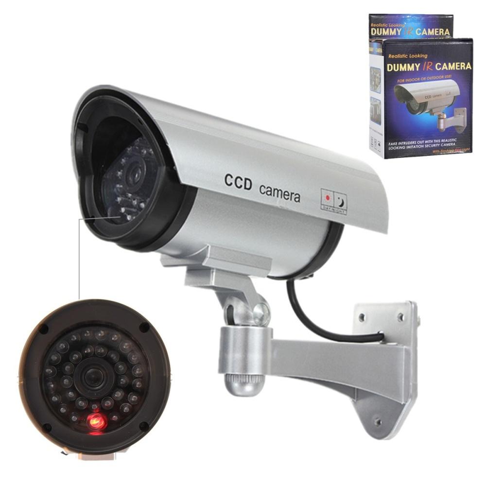 Adjustable Dummy Fake Cctv Security Camera W Flashing Led Light In Kamera Ir Image