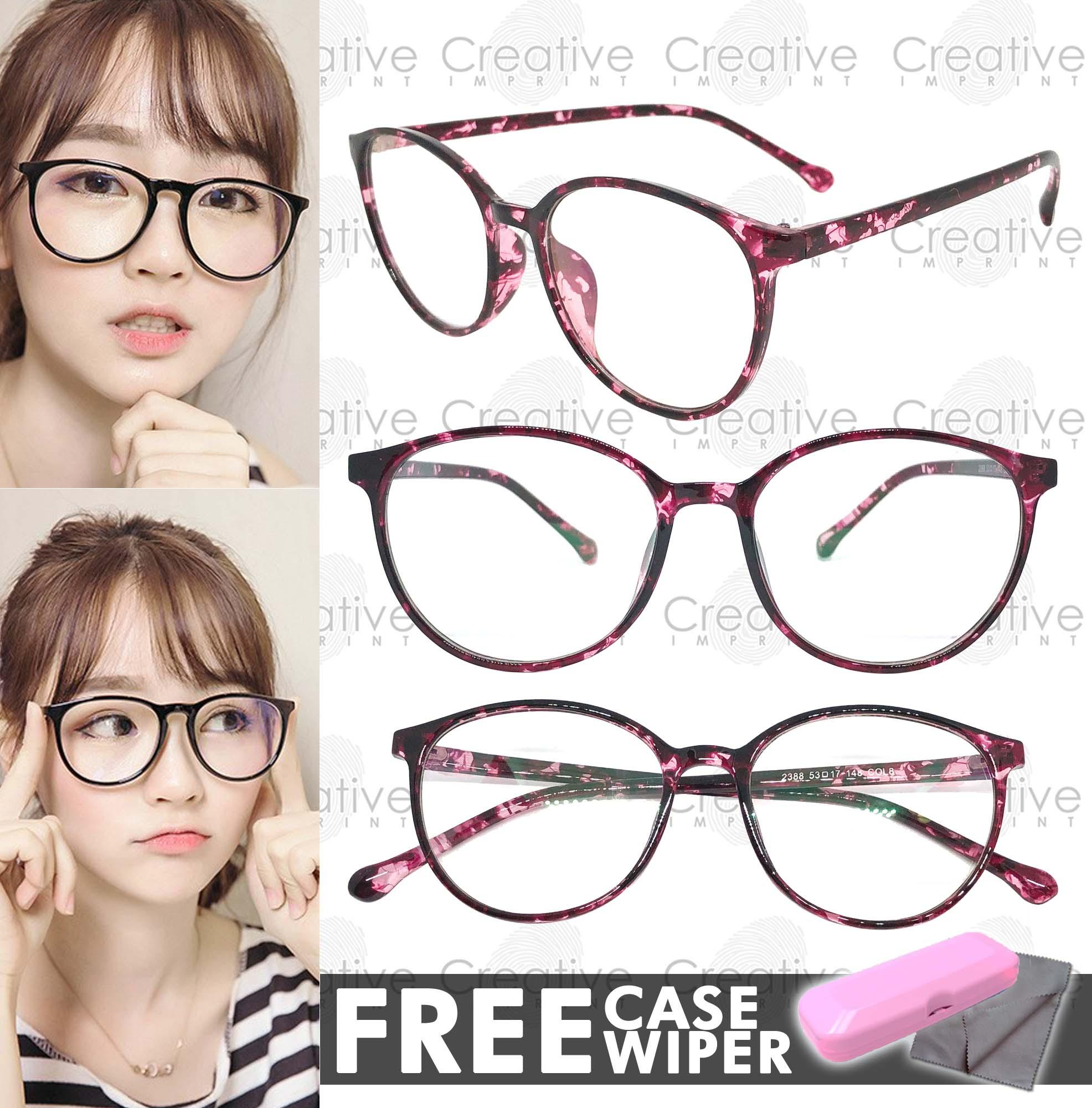 57acdc3d50d Creative Imprint Eyeglasses Anti-Radiation Lens ( 05 Animal Print Purple)  Anti-