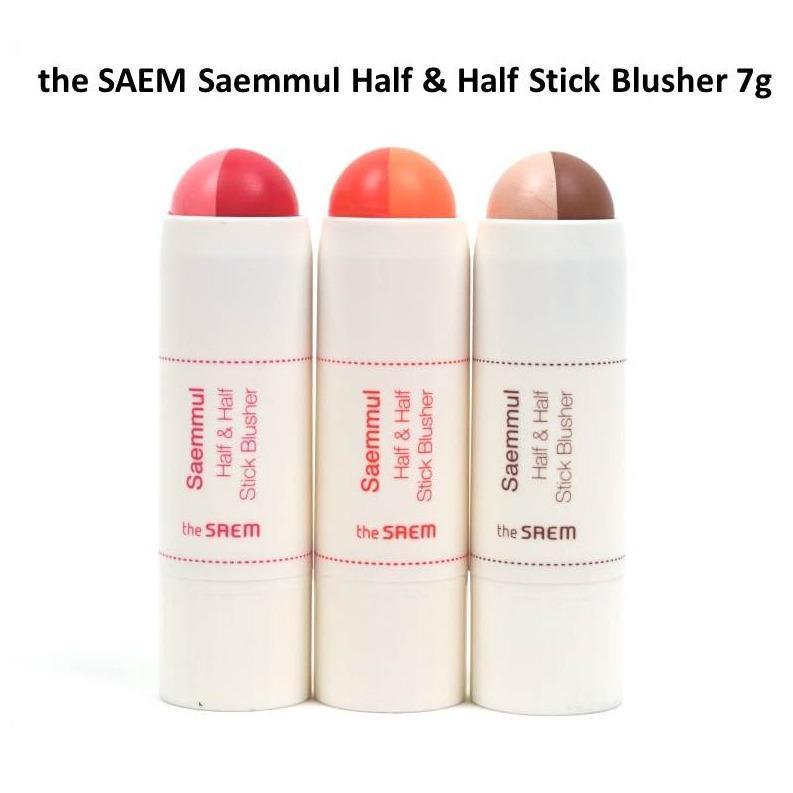 Korean Cosmetic the SAEM Half & Half Blusher Philippines