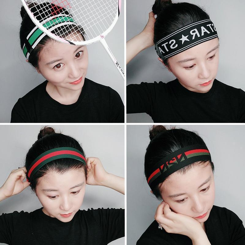 4 Pcs/set Korea Hitam dan Putih Bergaris Merajut Hiasan Kepala Wanita Rambut untuk Memimpin ...
