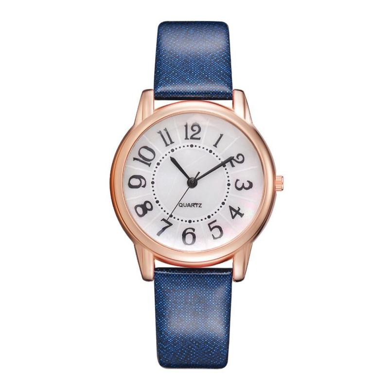 Nơi bán Fashion Roman Numberals Quartz Analog Leather Strap Casual Women Watches