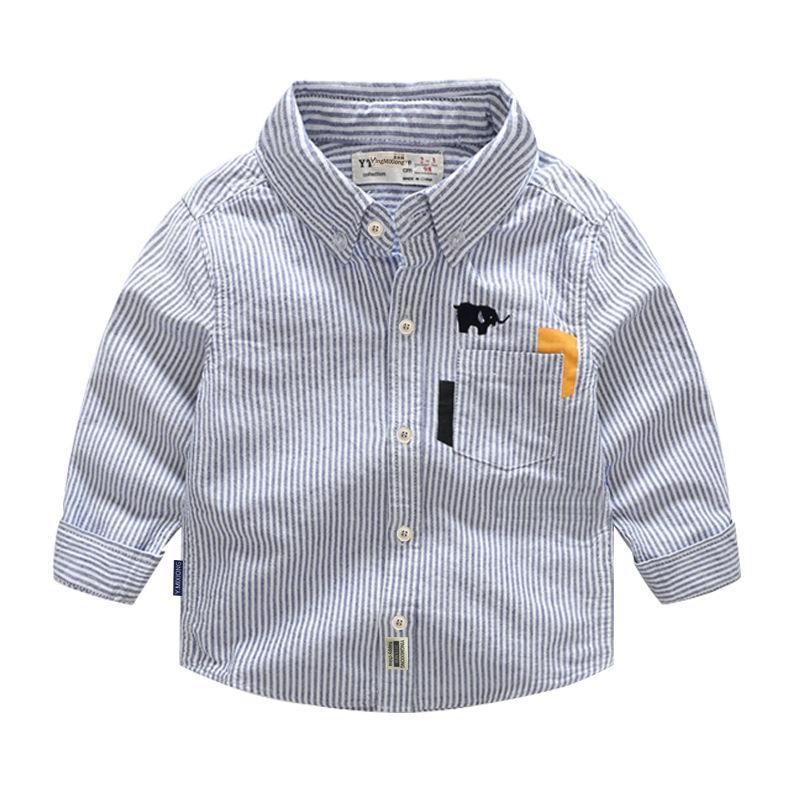 Pakaian anak-anak anak laki-laki kemeja 2018 model baru Pakaian Musim Semi dan