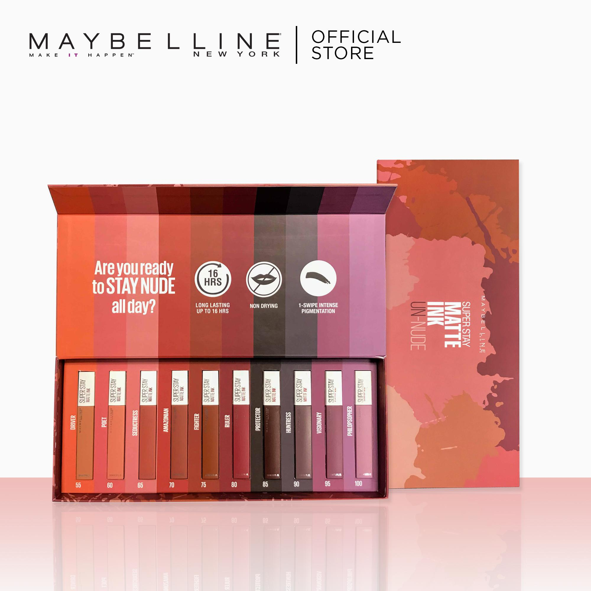 Superstay Matte Ink Un Nude Collection Complete Makeup Set By Maybelline Super Stay Philippines