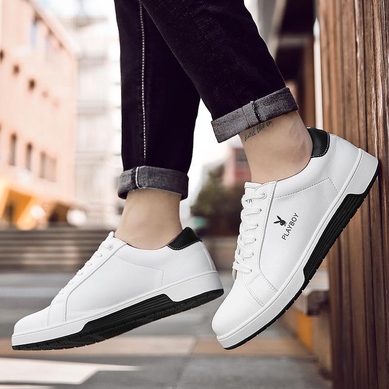 PLAYBOY sepatu pria musim gugur sepatu pria kasual sepatu olahraga Gaya  Korea sepatu sneaker Tren netral d783d01c05
